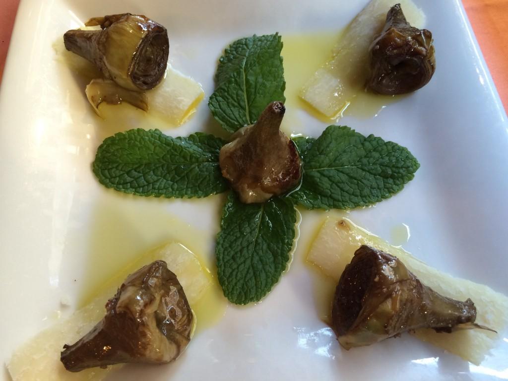 Artichauts à la romaine © GP