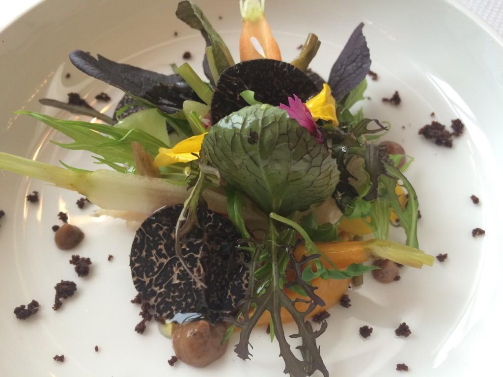 Légumes de Provence et truffes © GP