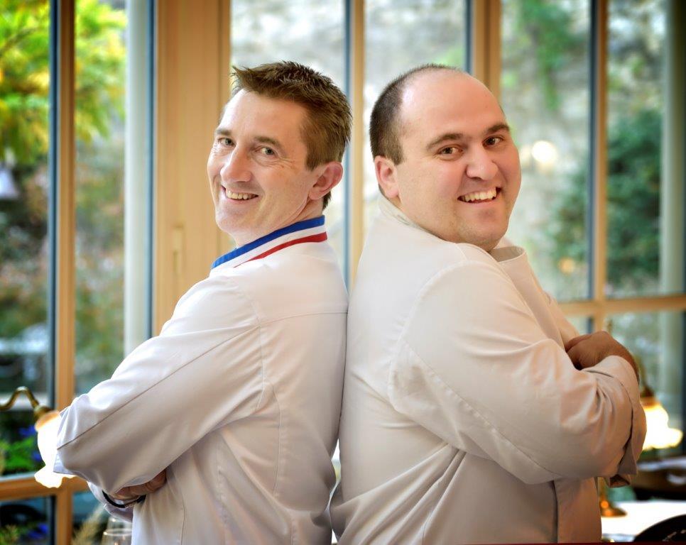Jean Christophe Vitte et Julien Allano © DR