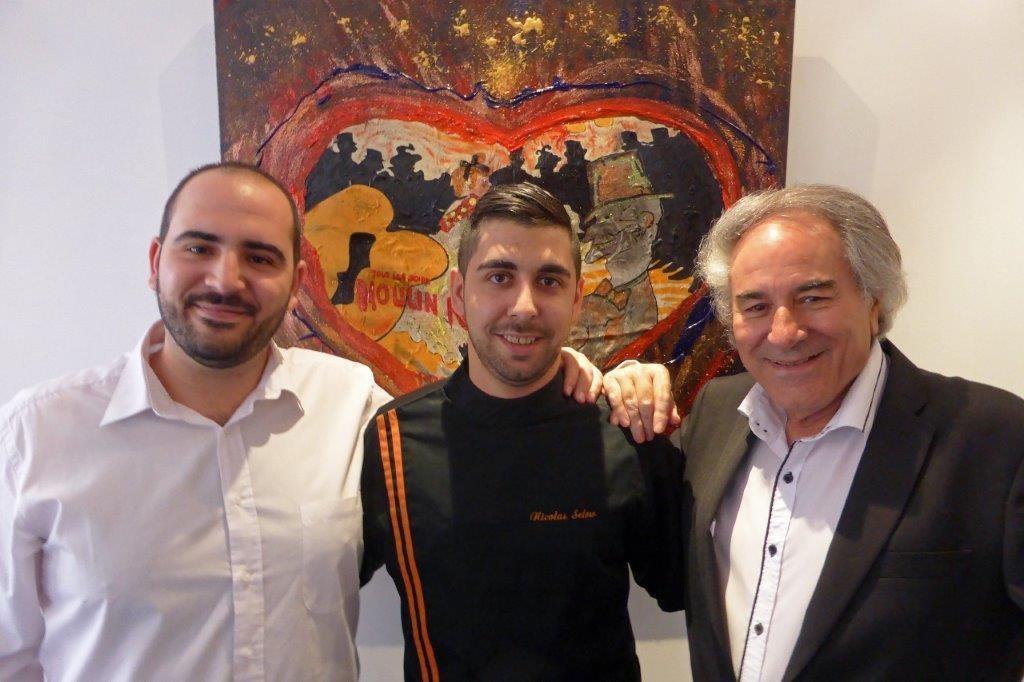 Julien, Nicolas et Guy © AA