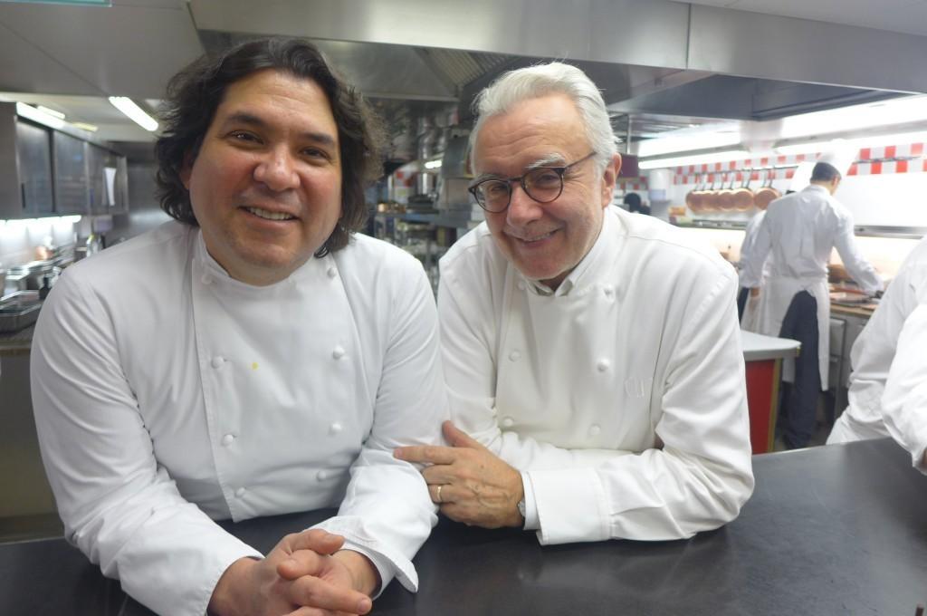 Gaston Acurio et Alain Ducasse ©GP