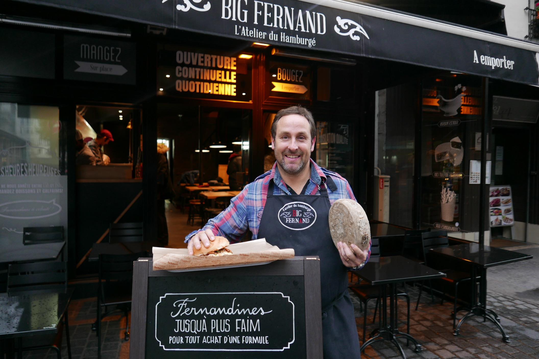 big fernand restaurant paris 1er big fernand sur la. Black Bedroom Furniture Sets. Home Design Ideas