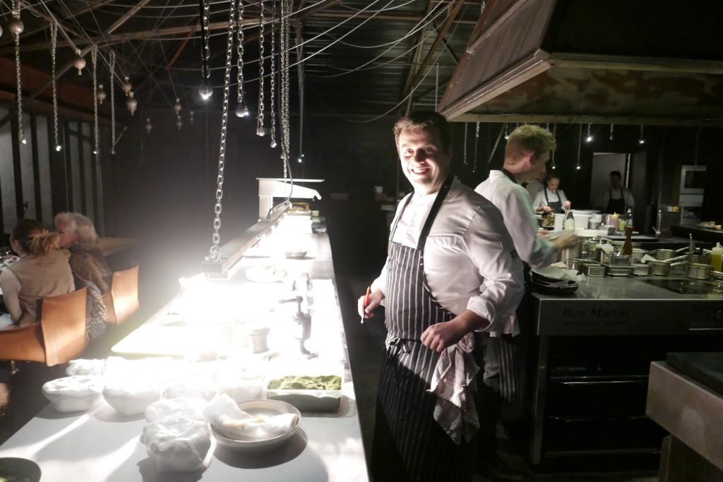 Alexandre Gauthier en cuisine © GP