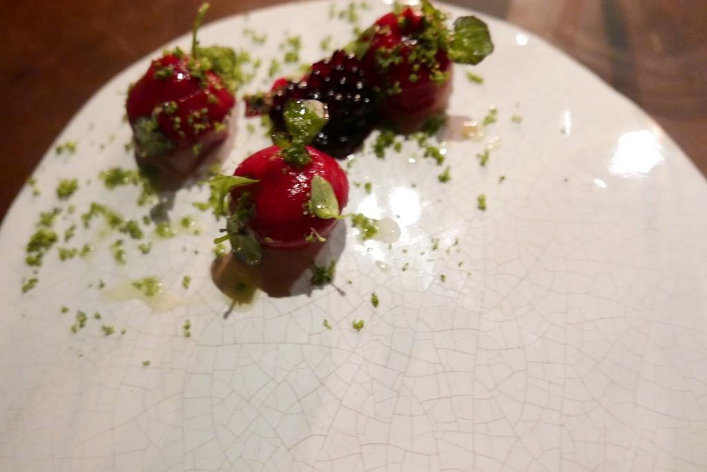 Racine rouge vinaigrée ©GP