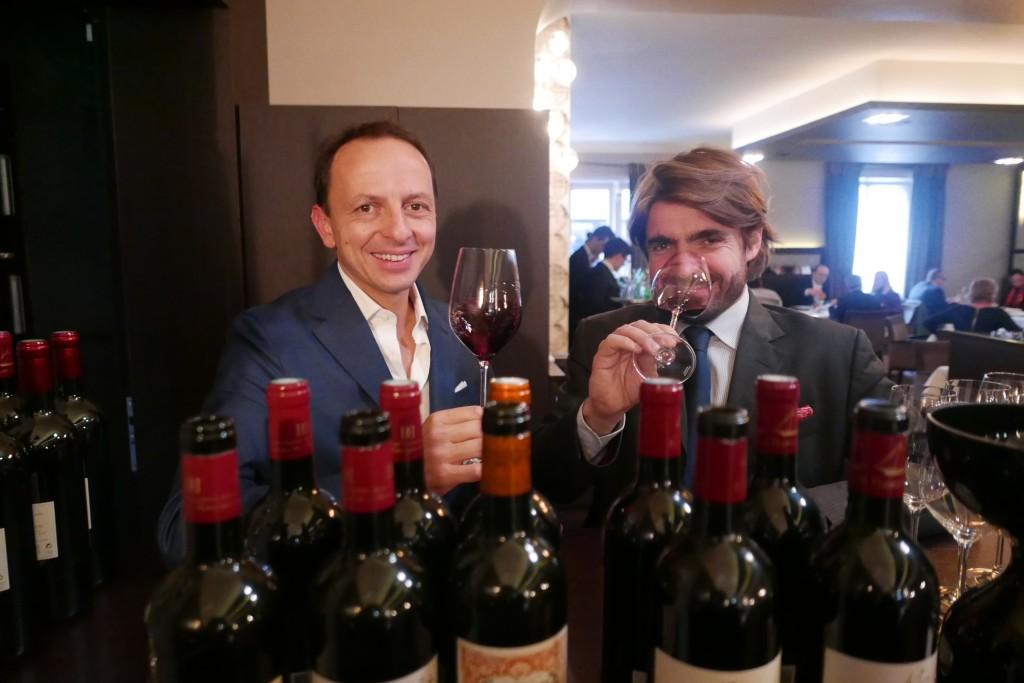Enrico Bernardo et Jean-Jacques Dubourdieu © GP