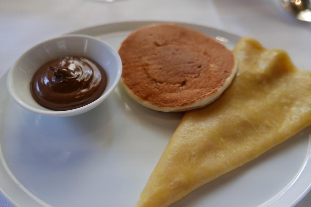 Crêpe et pancake au chocolat ©GP