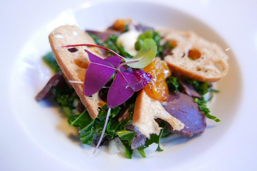 Salade de gésiers au coing ©GP