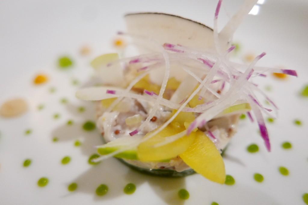 Mousse de poisson aux radis © GP