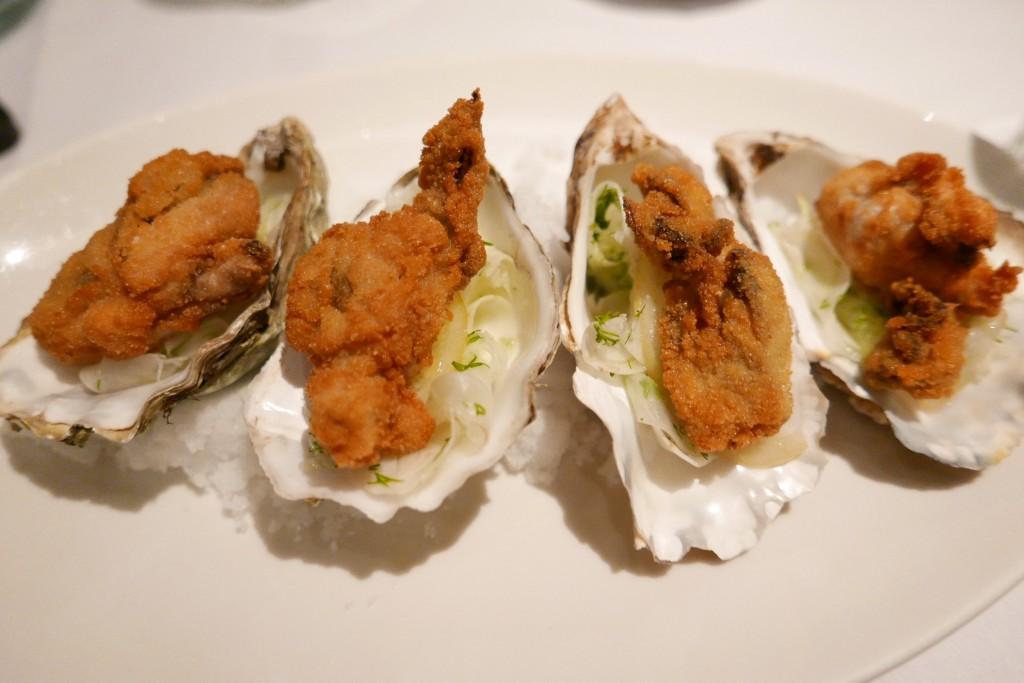 Huîtres frites au fenouil ©GP