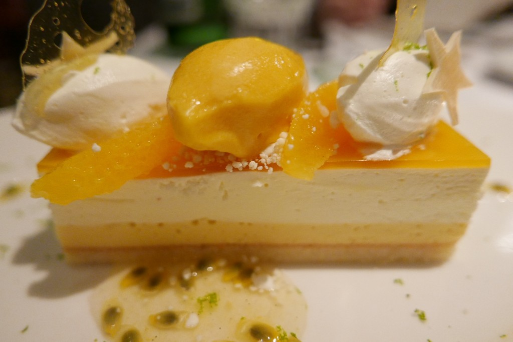 Cheese-cake mangue passion © GP