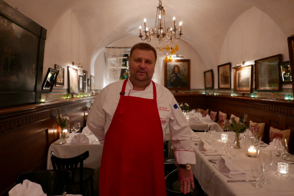 Le chef Miroslaw Strzelcyk © GP