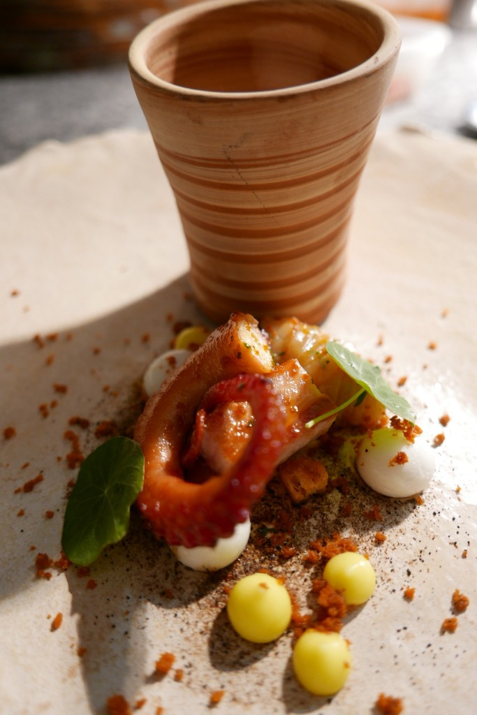 Goulasch de seiche et poulpe jambon ibérique ©GP