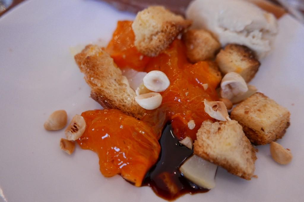 Kaki, pandoro, marron, foie gras ©GP