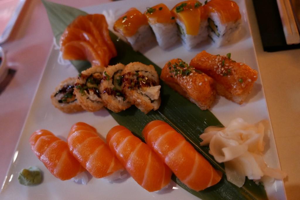Assortiment de sushis © GP