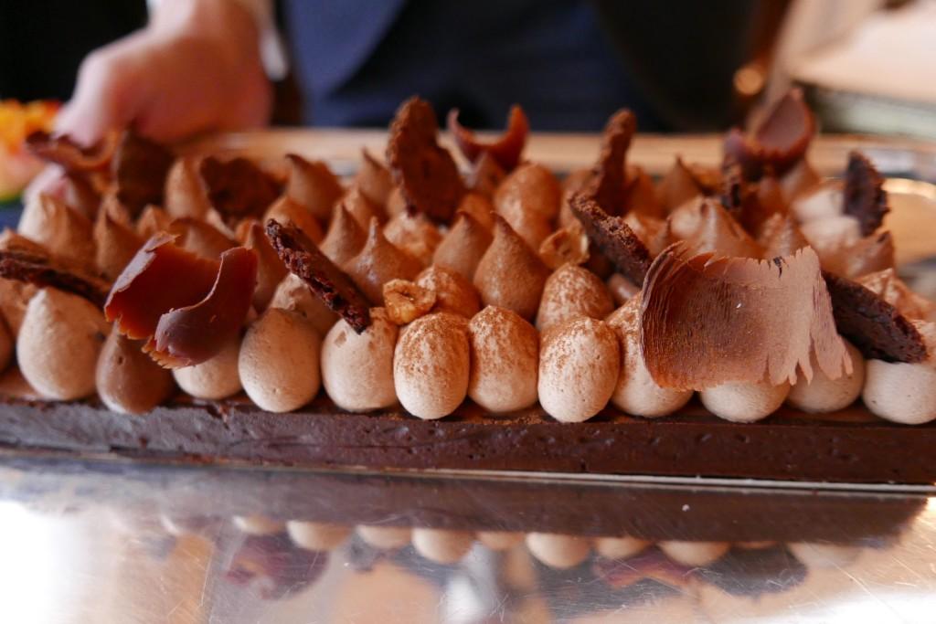 Tarte chocolat noisettes ©GP
