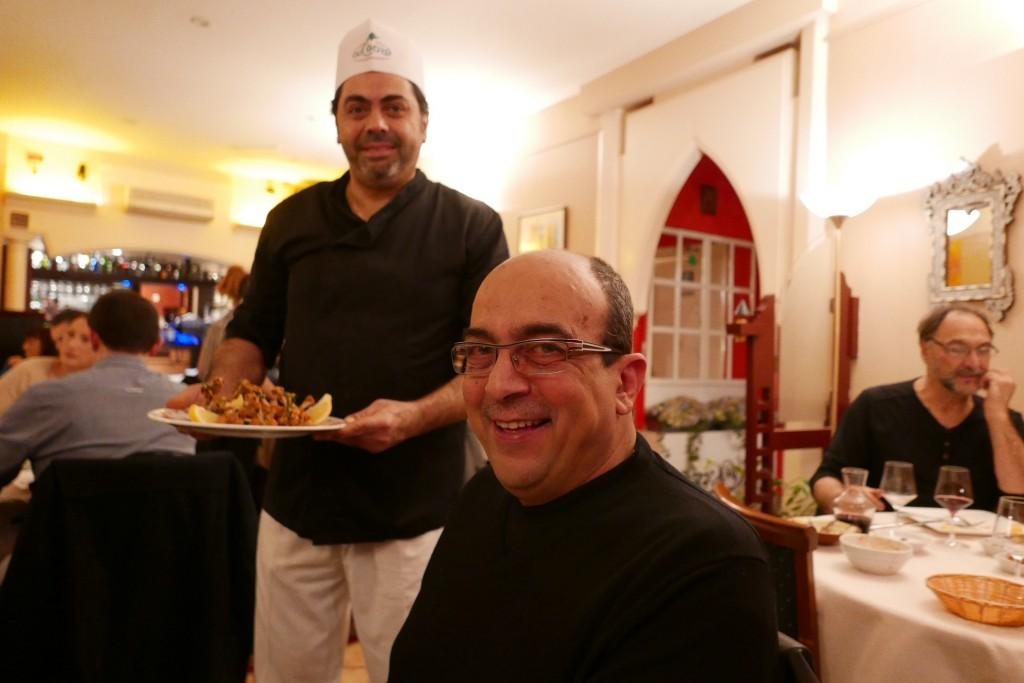 Elias Tachy et le chef Nabil © GP