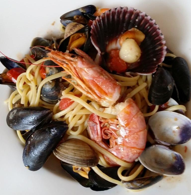 Linguine aux fruits de mer © SK