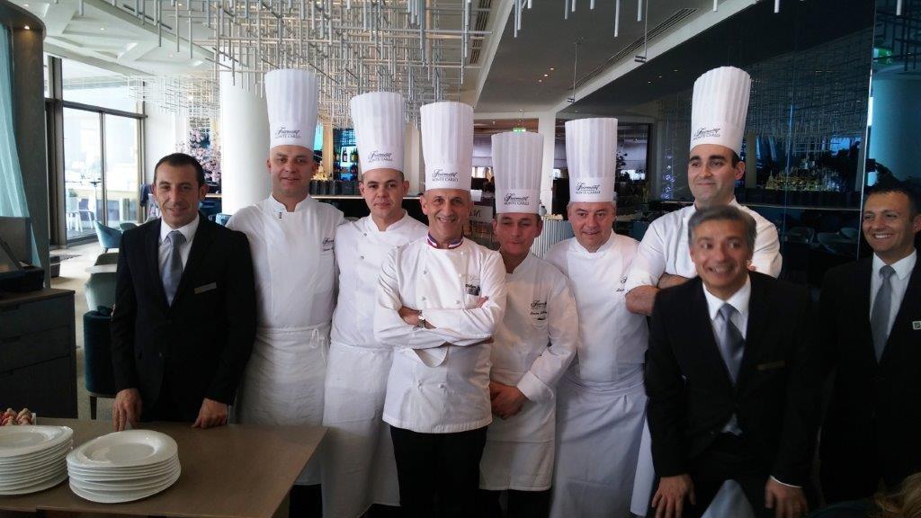 Philippe Joannes et son equipe ©AA