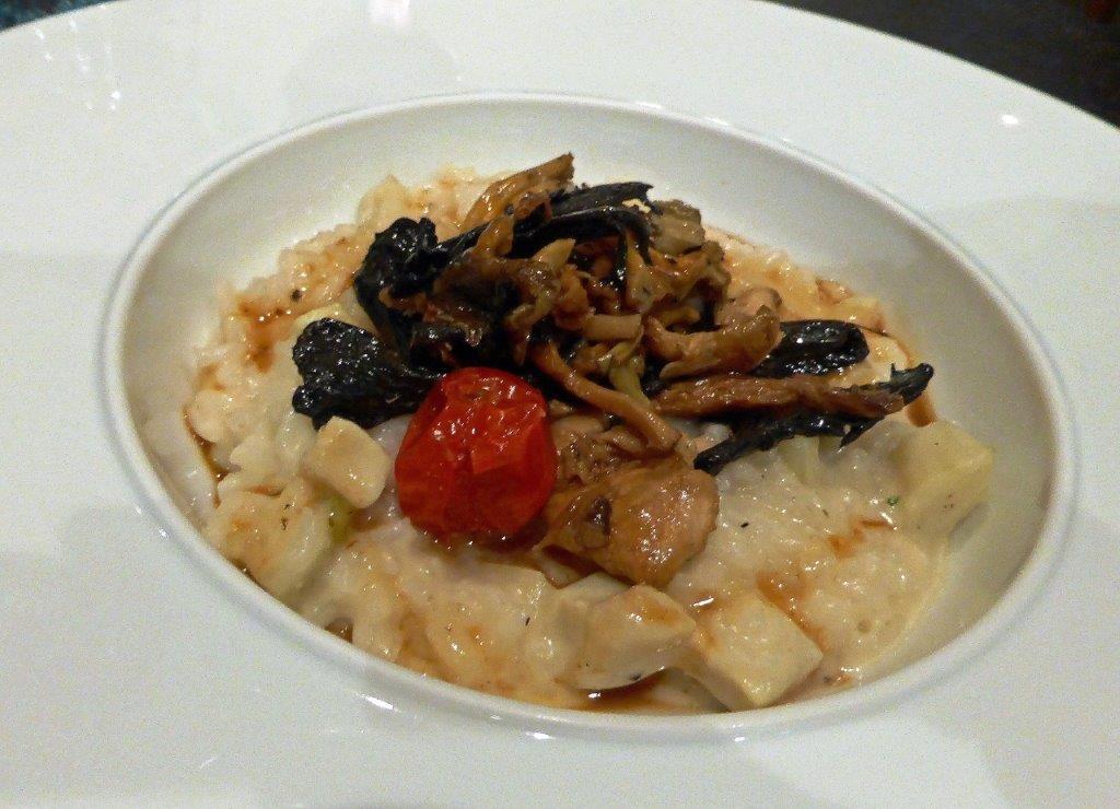 Risotto artichaut et champignons ©AA