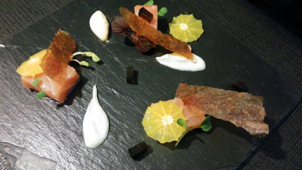 Gravlax de saumon © AA