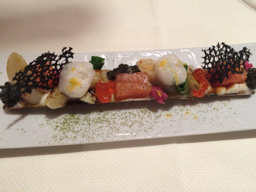 Couteaux, saumon © GP