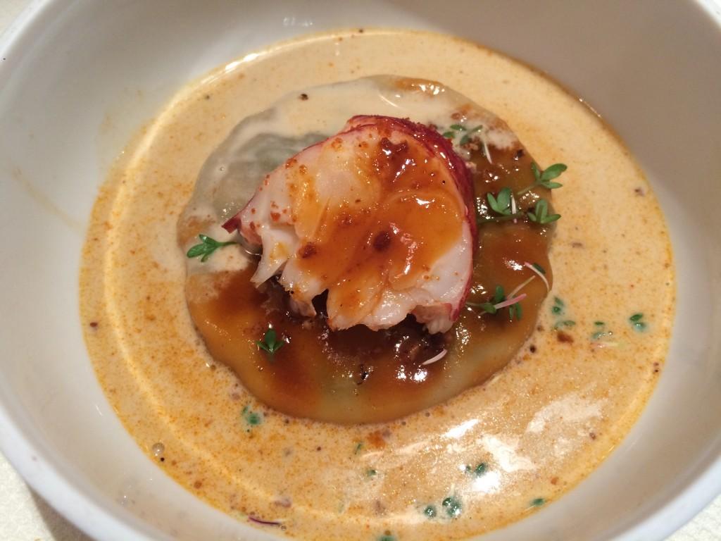 Raviole de homard © GP