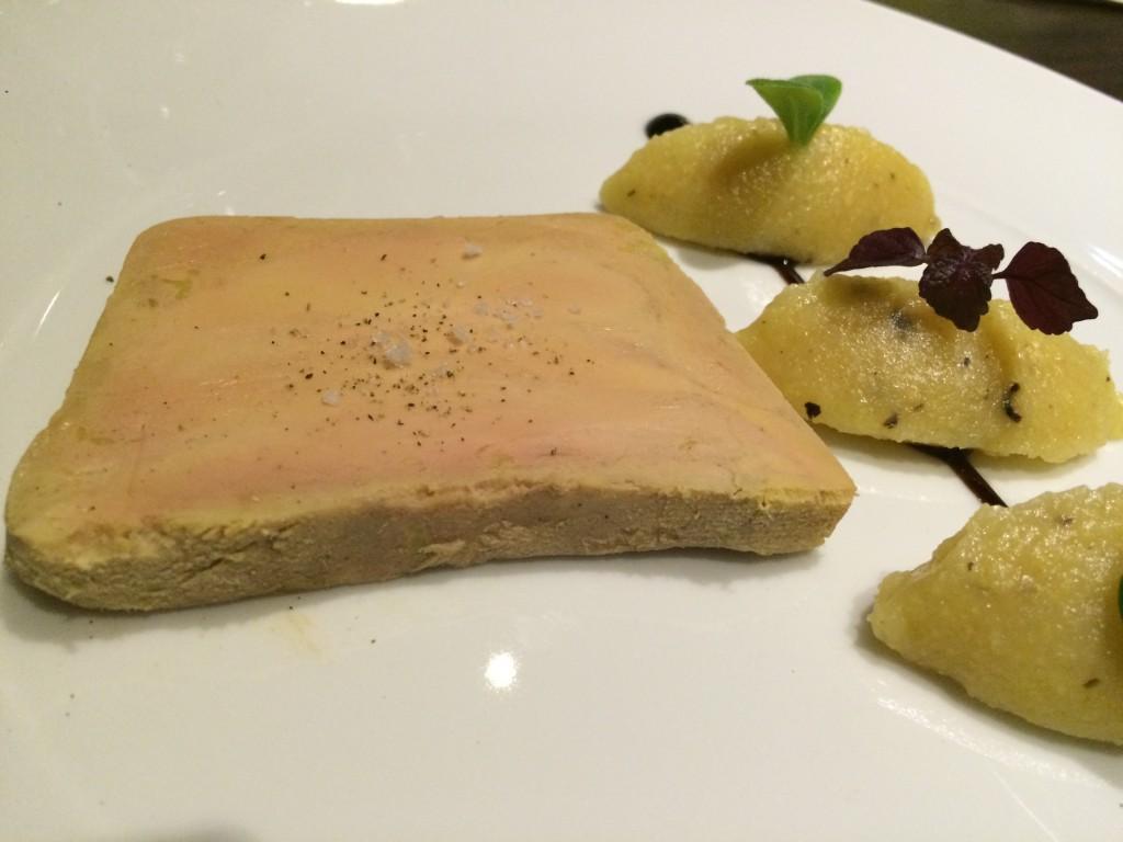 Foie gras aux coings © GP
