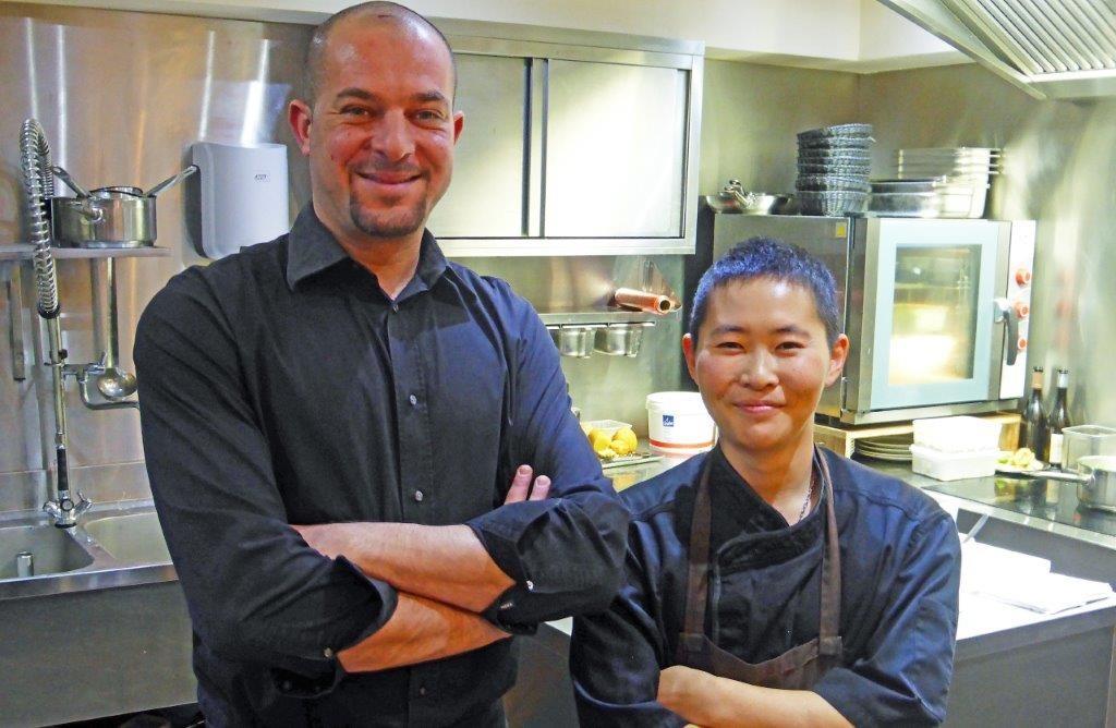 Jean-Michel et Takayuki ©AA