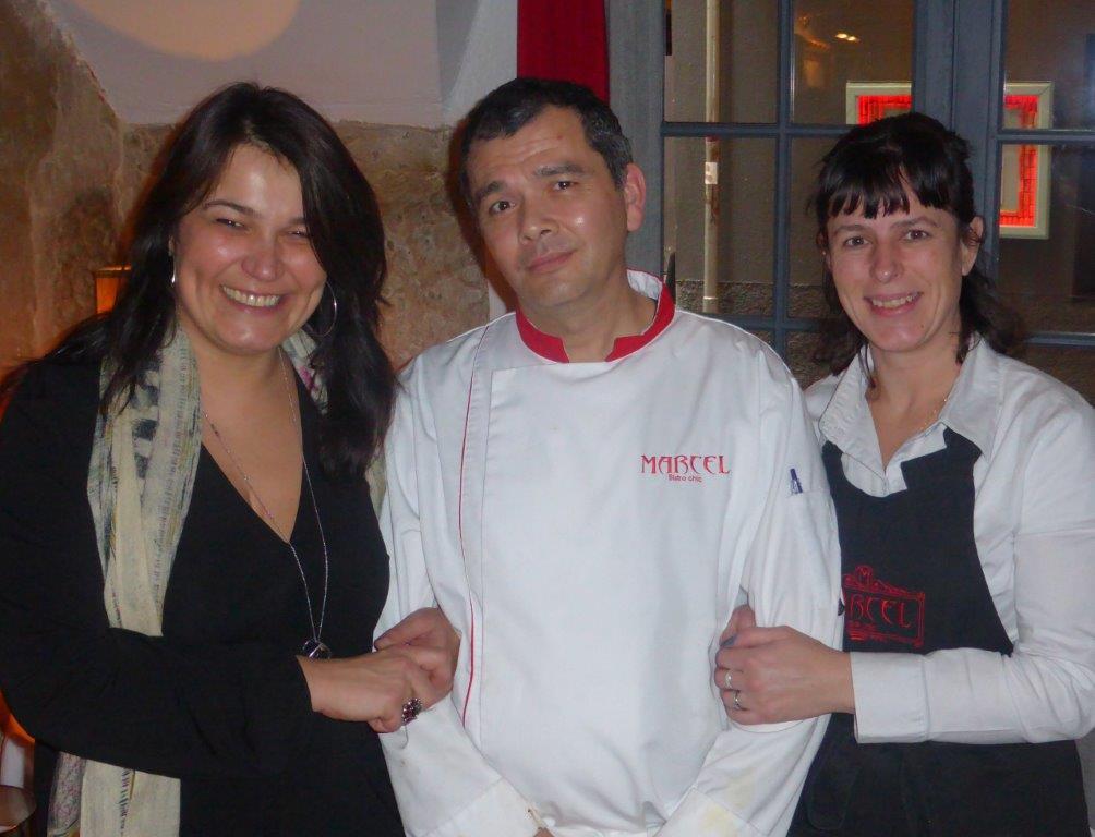Karine, Jean-Luc et Cathy ©AA