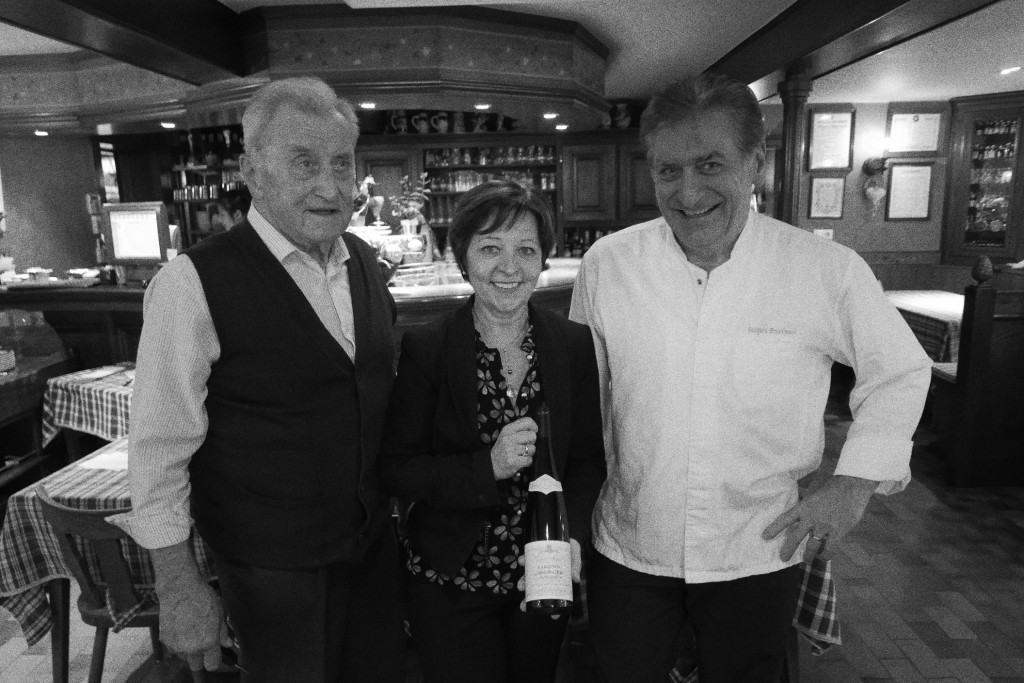 Jean-Jacques, Chantal et Jacques Bruckmann © GP
