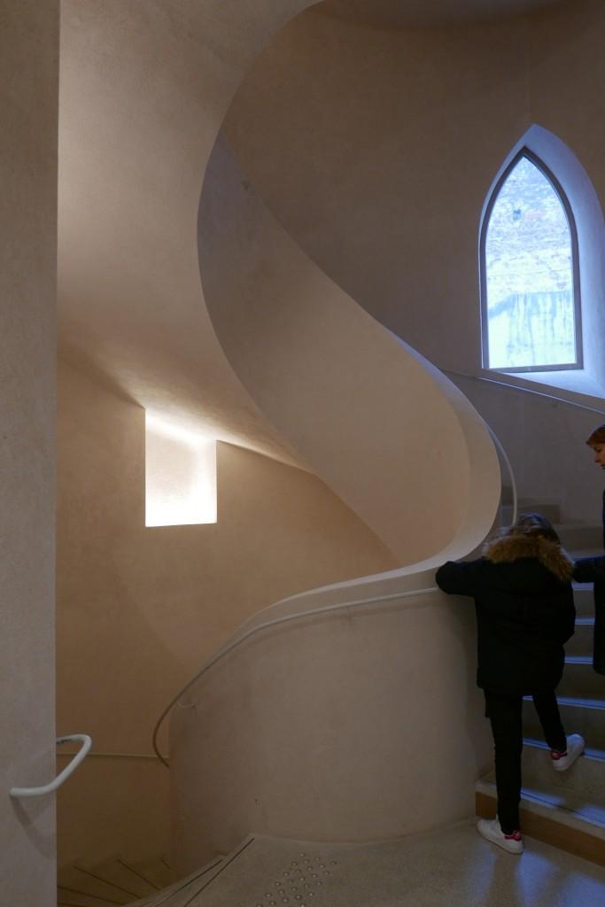 Nouvel escalier © GP