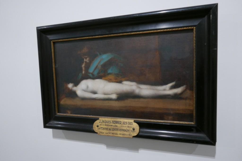 Christ Mort de J-J Henner © GP