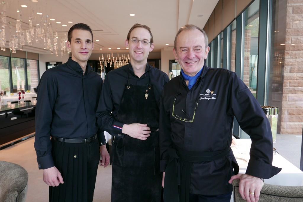Jean-Georges Klein avec Patrick Meyer et Romain Iltis © GP
