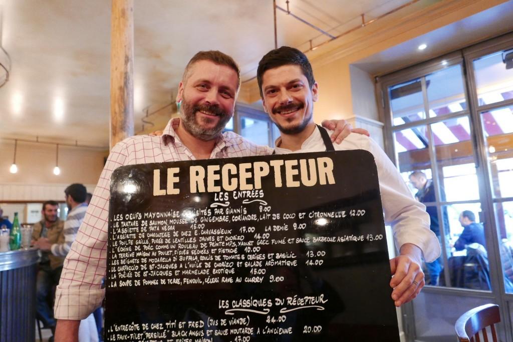 Sébastien Loyer et Giannis Zikakis © GP