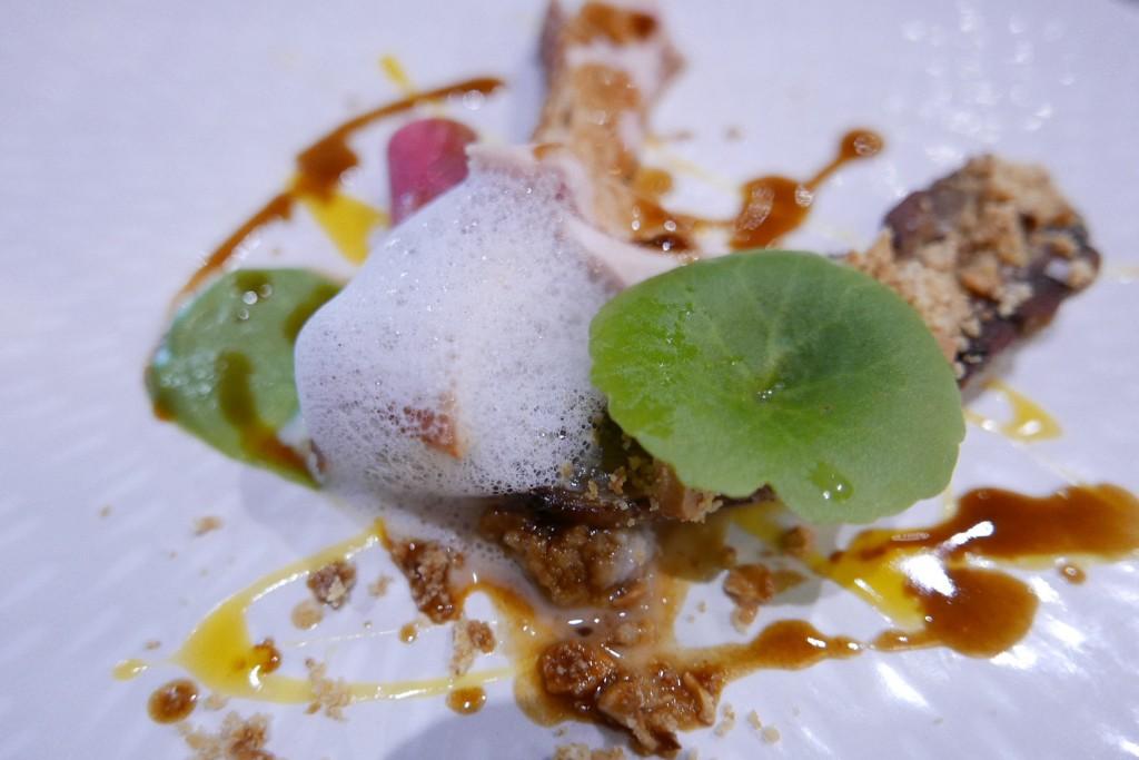 Pintade tartare d'huître capucine avocat ©GP