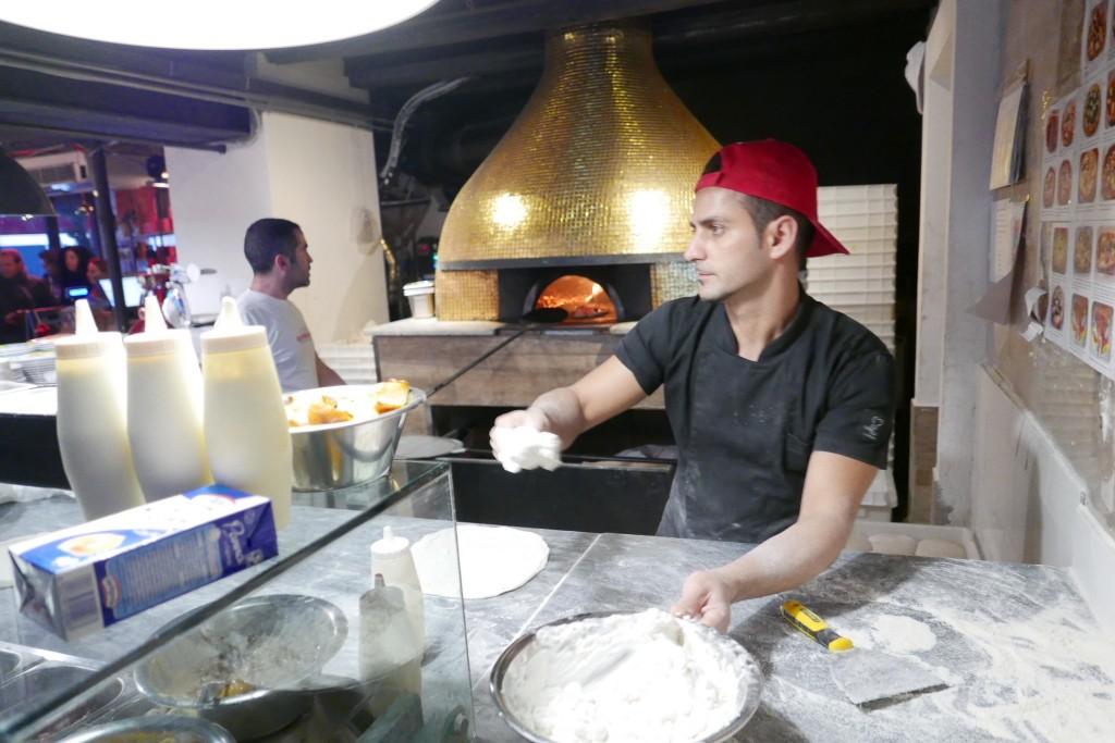 Le pizzaïolo © GP