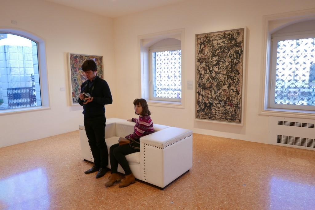 Dans la salle Pollock © GP