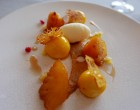 Ananas poêlé et sorbet kalamansi © GP