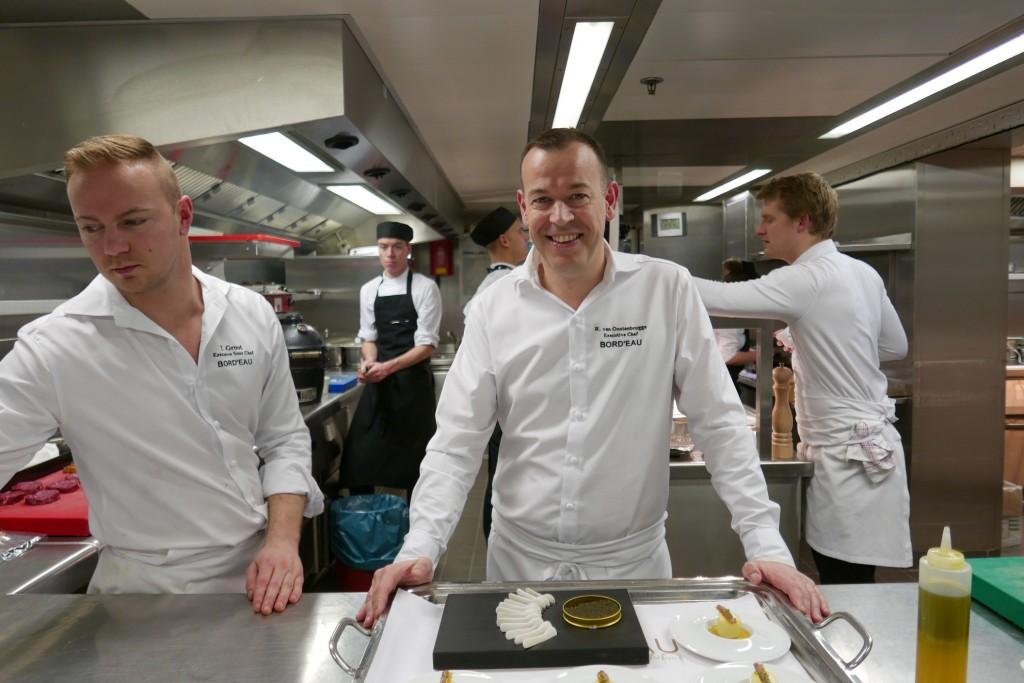 Richard van Oostenbrugge en cuisine © GP
