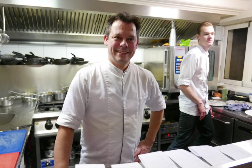 Rogier van Dam en cuisine © GP