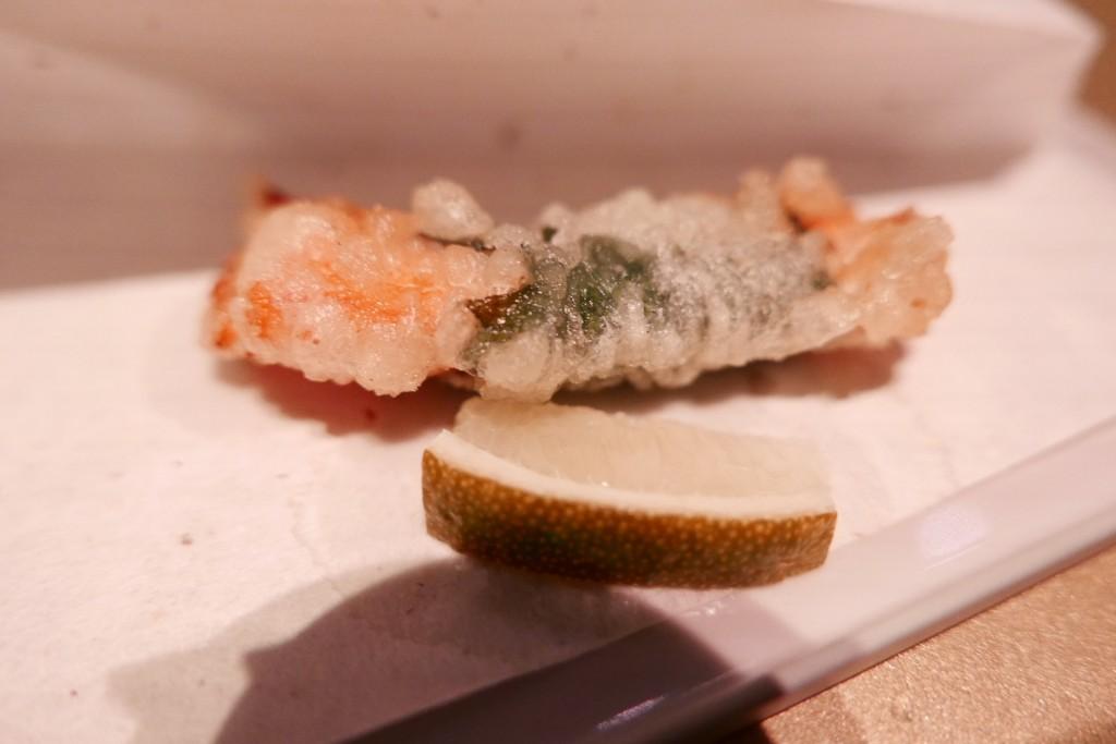 Langoustine en tempura © GP