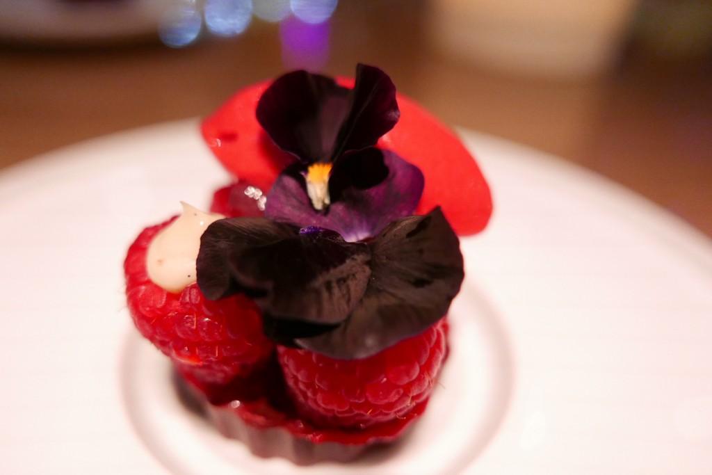Framboises, chocolat © GP