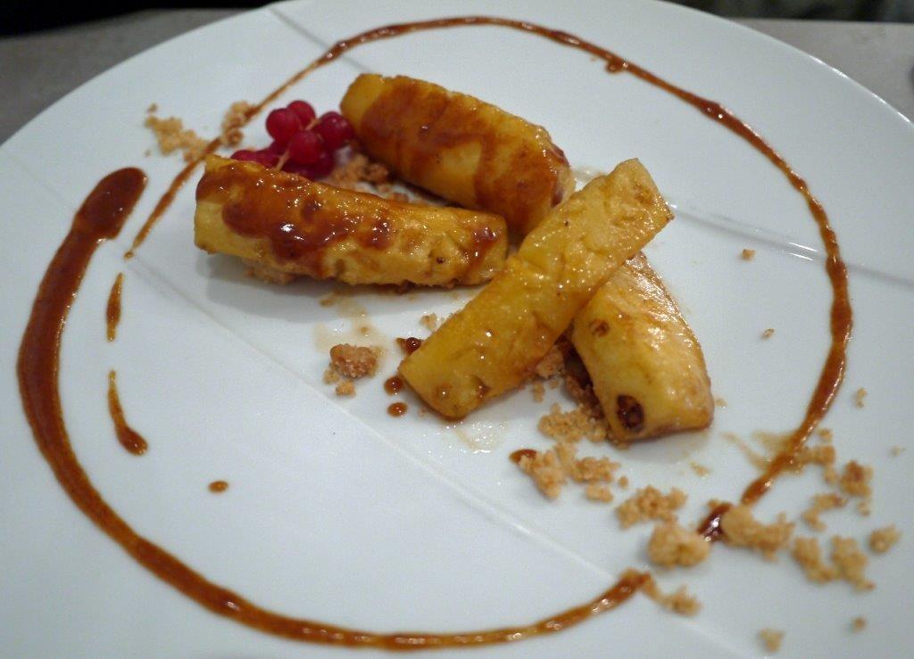 L'ananas caramelisé ©AA
