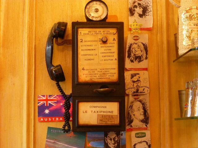 Le téléphone historique © DC