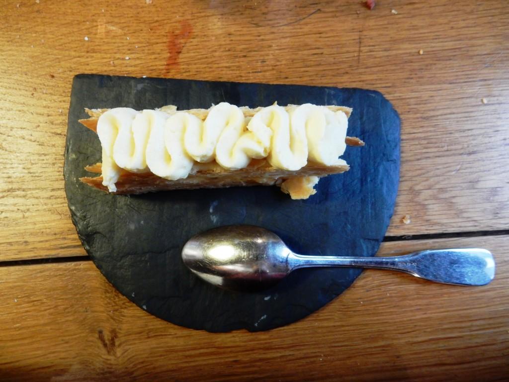 Mille-feuille et crème vanille ©SG
