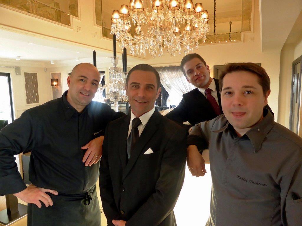 Nicolas Decherchi et son équipe © Alain Angenost