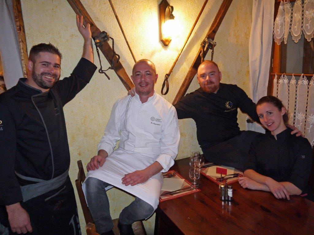 Olivier, Stephan, Arnaud et Cécile ©AA