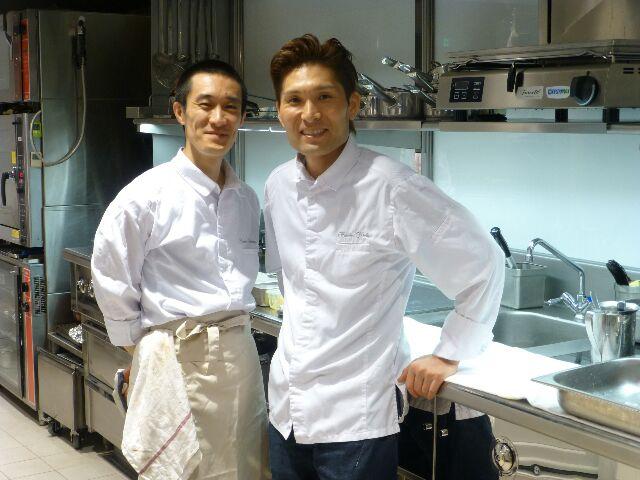 Hideki Nishi et son sous-chef Yoshiaki, Neige d'Eté © Didier Chambeau