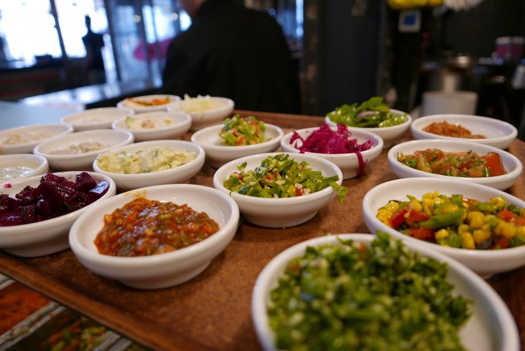 Salades variées © GP