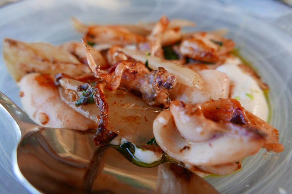 Calamars et labné ©GP